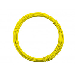 HOOK UP WIRE 26AWG YELLOW -...