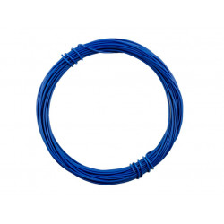 HOOK UP WIRE 26AWG BLUE -...