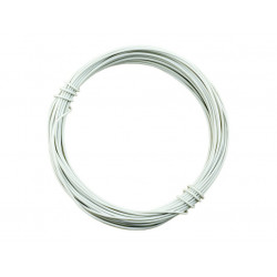 HOOK UP WIRE 26AWG WHITE -...