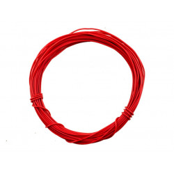 HOOK UP WIRE 26AWG RED -...