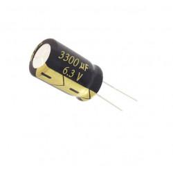 ELECTROLYTIC CAP 6.3V 3300UF