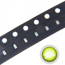 LED 0603 SMD, LIME GREEN