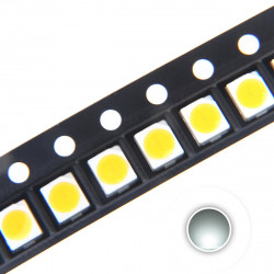 LED 1210 SMD, COLD WHITE