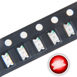 LED 1206 SMD, RED