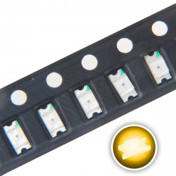 LED 1206 SMD, YELLOW