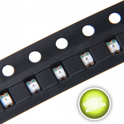 LED 0805 SMD, LIME GREEN