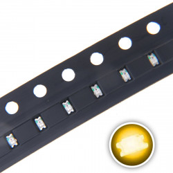 LED 0603 SMD, YELLOW