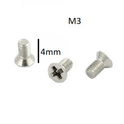 SCREW M3X4MM 10PCS