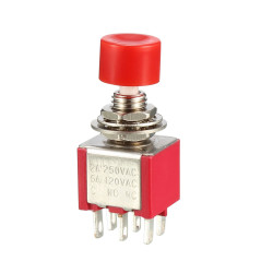 PUSH BUTTON SWITCH DPDT...