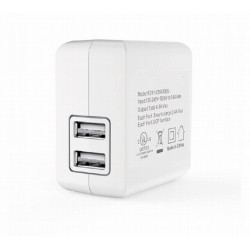 USB DUAL CHARGER, 5V 4.8A