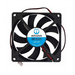 DC FAN, 80X80X10MM 12VDC,...