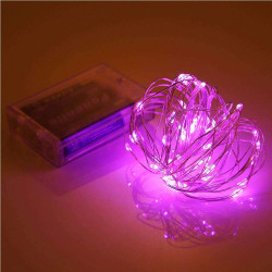LED STRING LIGHT, PINK, 5M...