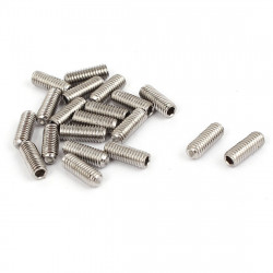 HEX SET SCREW M3X8MM 10PCS/PKG