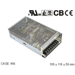 POWER SUPPLY, SWITCHING, 12VDC, 12.5A, NES-150-12