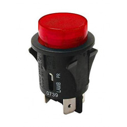 PUSH BUTTON SWITCH, SPST,...