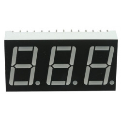 LED 7-SEGMENT, 3 DIGIT,...