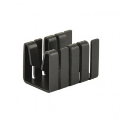 HEAT SINK, TO-220, CLIP ON,...