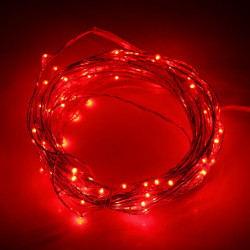 LED STRING LIGHT, 5M 50LED, AAX3
