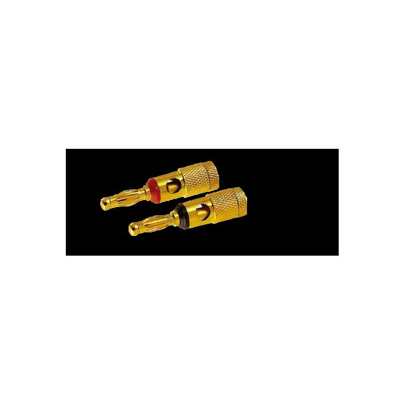 BANANA PLUG, GOLD, SLF-2014
