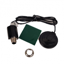 "AUDIO PICKUP KIT, WITH 1/4"", SINGLE PICKUP PATCHES"