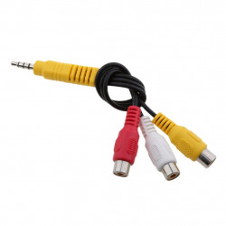 VIDEO CABLE, 3.5MM TO...
