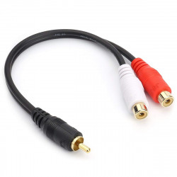 AUDIO CABLE, RCA(M) TO 2...