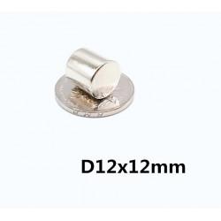 MAGENT CYLINDER D12X12MM