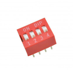 DIP SWITCH 4-POSITION