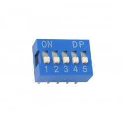 DIP SWITCH 5-POSITION