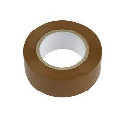 TOOL, ELECTRICAL TAPE 20M BROWN