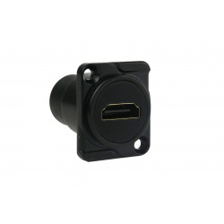 PANEL MOUNT, HDMI, F/F COUPLER