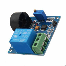 AC CURRENT DETECTION SENSOR MODULE, 12V RELAY