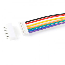 JUMPER WIRE, JST, PH, 8PIN,...