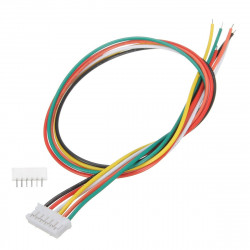 JUMPER WIRE, JST, PH, 6PIN,...