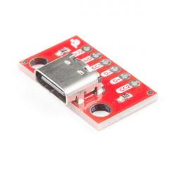 USB-C BREAKOUT PCB