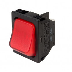 ROCKER SWITCH DPST W/LAMP...