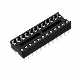 IC SOCKET 24-PINS 3PCS