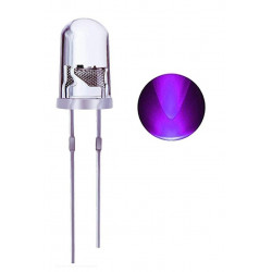 LED 5MM UV ULTRA VIOLET PURPLE