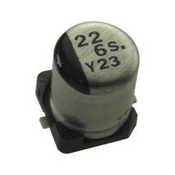 SMD ELECTROLYTIC CAP, 22UF...