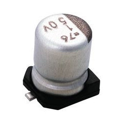 SMD ELECTROLYTIC CAP, 2.2UF...