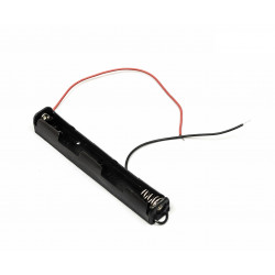 BATTERY HOLDER, AAx2, OPEN,...