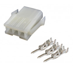 MOLEX MINI-FIT JR, PLUG,...