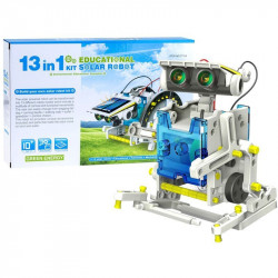 SOLAR KIT, 13 IN 1, ROBOT