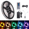 LED RGB STRIP KIT, 12V POWER ADAPTOR, W/REMOTE