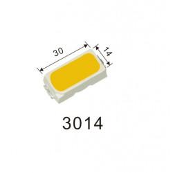 LED 3014 SMD, WHITE 6000K -...