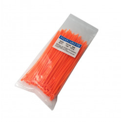 CABLE TIE, 150X3MM, ORANGE,...