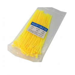 CABLE TIE, 150X3MM, YELLOW,...