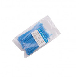 CABLE TIE, 100X3MM, BLUE,...