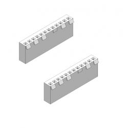 12-WAY 3.96MM SOCKET 2PCS
