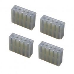 5WAY SOCKET (F) 3.96MM 4PCS